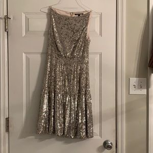 Gianni Bini never worn gold sparkly dress!!